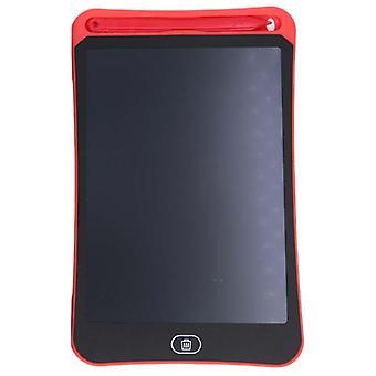 """Placa de dibujo 8.5"""" con pantalla LCD y lápiz - Rojo"""