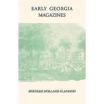初期のジョージア雑誌 - 1865年までの文学雑誌 - 9780820335360