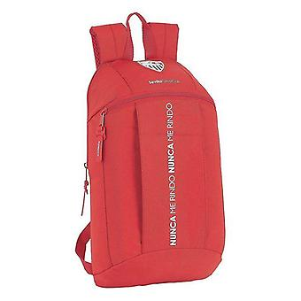Casual backpack sevilla fútbol club bright red