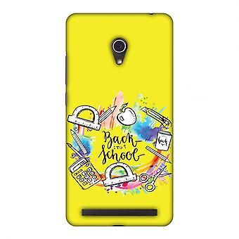 Back To School Slim Hard Shell Case For Asus Zenfone 6 A600cg