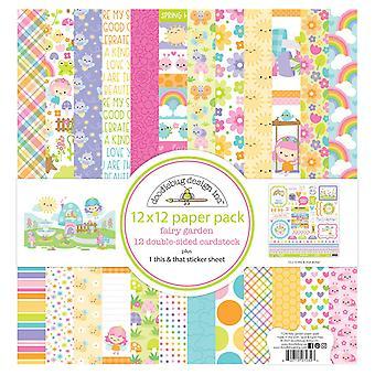 Doodlebug Design Fee Garten 12 x 12 Zoll Papier Pack