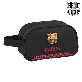 Bolsa de aseo escolar F.C. Barcelona Negro