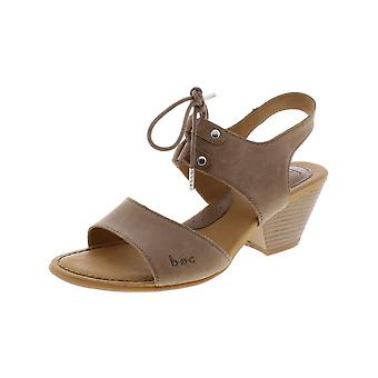 Born Womens Blaire Leather Open Toe Casual Ankle Strap Sandals