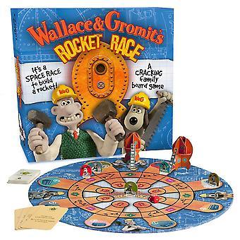 Wallace és Gromit rakéta Race társasjáték