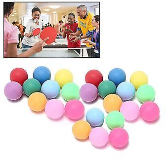 40mm Unterhaltung Tischtennis Sport Bunte Ping Pong Bälle