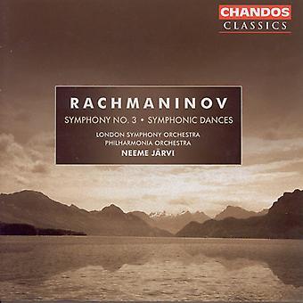 S. Rachmaninov - Rachmaninoff: Symphony No. 3; Symfonische dansen [CD] USA importeren