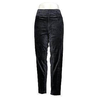 kos duds leggings dobbel plysj full lengde trekk på grå A308177