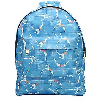 Mi-Pac Mi-Pac French Riviera Backpack Backpack Casual Backpack, 41 cm, Blue (Blue)
