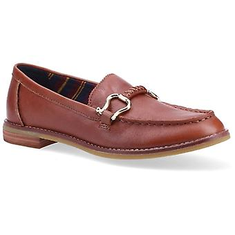 Sperry Seaport Penny Plushwave Ladies Leather Loafers Tan