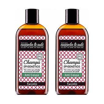 Duplo Epigenetic Anti-Dandruff Shampoo 2 units of 250ml