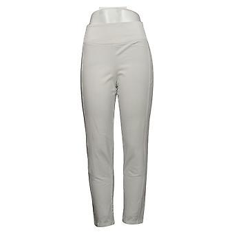 Kvinder med Control Kvinders Bukser Petite Contour Waist Hvid A241129