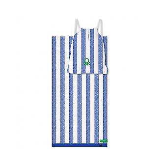 Asciugamani Set Benetton Picnic Blue (2 pezzi)