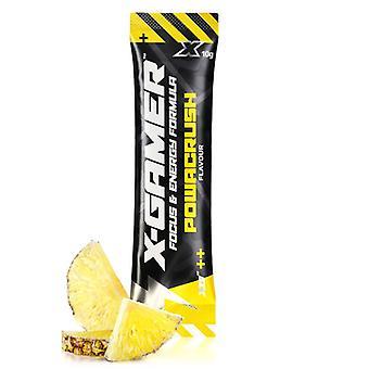 X-Gamer X-Shotz Powacrush (Pineapple Flavoured) Energy Formula - 10g
