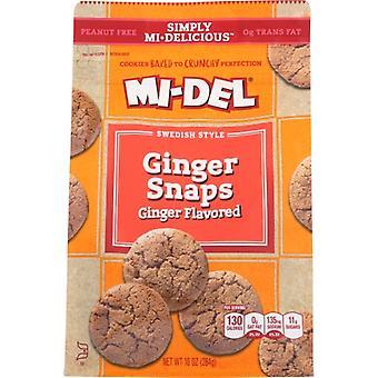 Midel Cookie Ginger Snap Flvrd, prípad 8 X 10 Oz