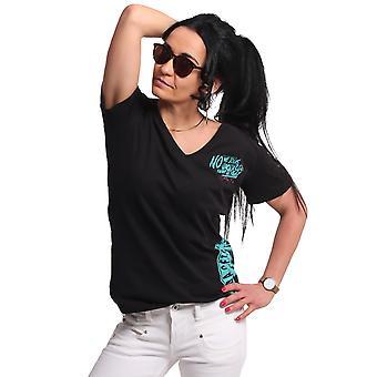 YAKUZA Women's T-Shirt Jodas V-Neck Boyfriend