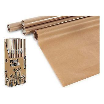 Gift Wrap Ornamental Brown (70 x 200 cm)