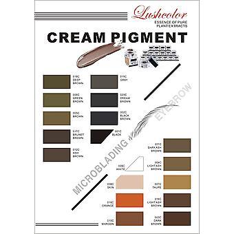 LushColour startpaket | 8x Pigments & Färghjul [01]