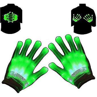 Rozsvietiť led kostra rukavice Halloween toy novinka vianočný darček pre deti