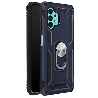 Cover for Samsung Galaxy A32 5G Protection with Card Holder Function blue