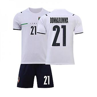 Donnarumma #21 Jersey European Italy National Soccer Teams Soccer T-shirts Jersey Set For Kids Youths