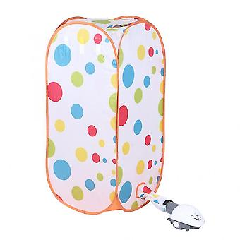 Clothes Drying Bag Portable Folding Electric Dryer Machine With Hot Air Pump