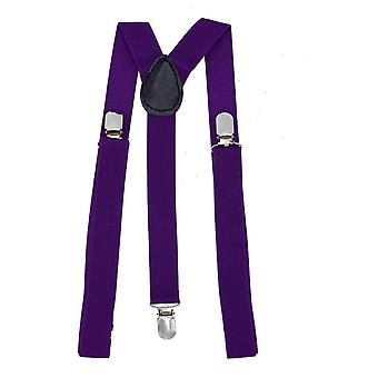 Dark purple braces