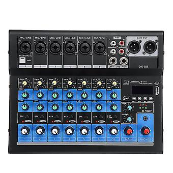 8 Canal 48V bluetooth Digital Microfon Sunet Mixing Console Puternic Professional Karaoke Audio
