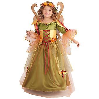 Forest Fairy Queen Pixie Fairytale Book Week Girls Costume
