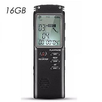 Wysokiej jakości 8g / 16g / 32g Akumulator Cyfrowy rejestrator audio Dyktafon Odtwarzacz mp3