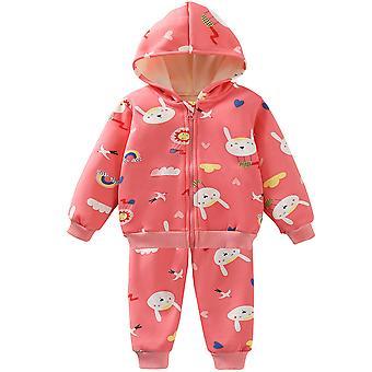חליפת סוודר פליז חליפת תינוק קרדיגן ז'קט ילדים נוחה חליפת ספורט