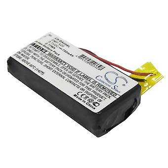 Battery for Gateway DMP-X20 Jukebox 20GB MP3 Media Music Player CS-DX20SL 750mAh