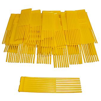 79 Yellow Brushes Fits Westwood Countax Power Sweeper Lawn Tractor