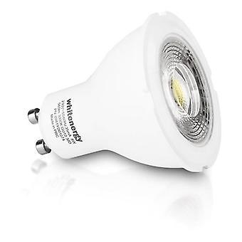 Whitenergy GU10 LED MR16 Light Bulb Single Pack 8W 230V  White Warm 38 Degree