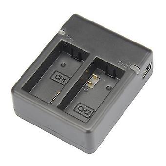 Dot.Foto Dual USB caricabatteria per GoPro HD HERO3, HERO3 + fotocamera e GoPro AHDBT-201, AHDBT-301, AHDBT-302