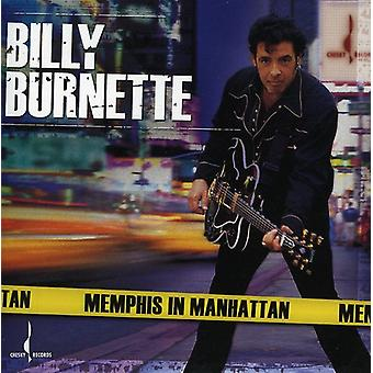 Billy Burnette - Memphis in Manhattan [CD] USA import