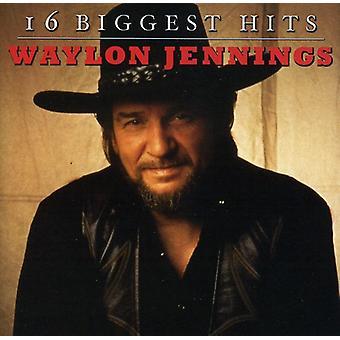 Waylon Jennings - 16 största Hits [CD] USA import