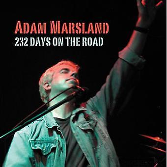 Adam Marsland - 232 Days on the Road [CD] USA import