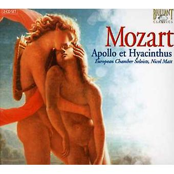 W.a. Mozart - Mozart: Apollo Et Hyacinthus [CD] USA import