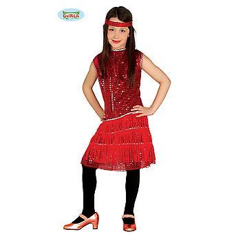 Charleston Kostüm Charlestonkostüm Glitzer Kleid Mädchen