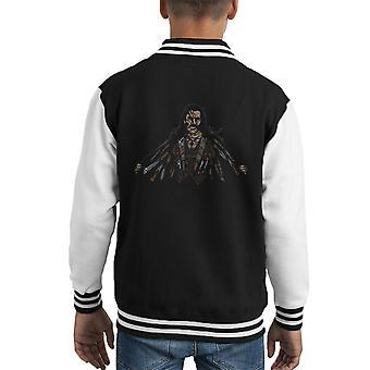 Say Hello To My Little Friends Machete Kid's Varsity Jacket