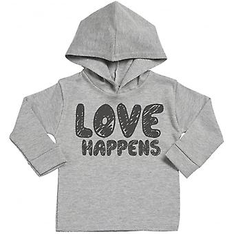 Spoilt Rotten Love Happens Cotton Hoodie