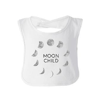 Mond Kind weiße süße Halloween Baby Lätzchen Baumwolle neue Eltern Geschenke