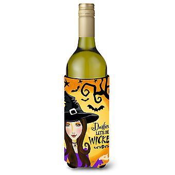 Halloween Wicked Witch Wine Bottle Beverge Insulator Hugger