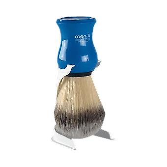 Men-U Premier Blue Shaving Brush & Stand