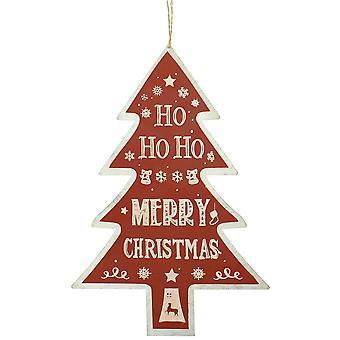 Juldekoration Shop träd Sign