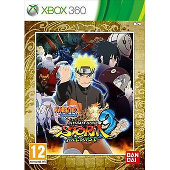 Naruto Ultimate Ninja Storm 3 Full Burst (Xbox 360) - Fabbrica sigillata