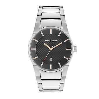 Kenneth Cole New York Herren Uhr Armbanduhr Edelstahl KC15103001