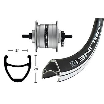Bike parts 28″ front wheel Rodi airline 1 + Hub Dynamo Shimano DH-C3003