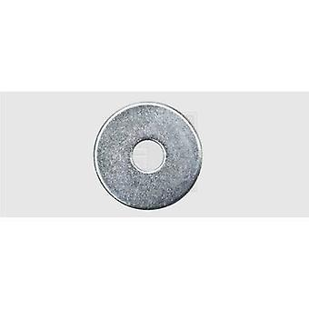Mudguard repair washer 5.3 mm 20 mm Steel zinc plated 100 pc(s) SWG