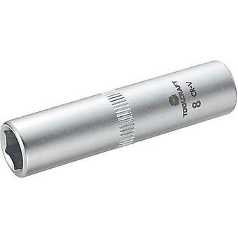 Socket wrench set 6.3 mm (1/4) TOOLCRAFT 816097 Spanner size 8 mm
